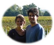 Charlotte et Valentin Généré Milhade jeunes viticulteurs