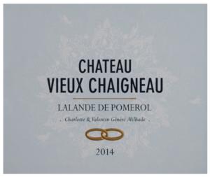 Chateau Vieux Chaigneau 2014