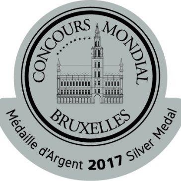 Le millésime 2014 médaillé d'argent à Bruxelles