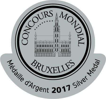 Médaille d'argent Bruxelles 2017