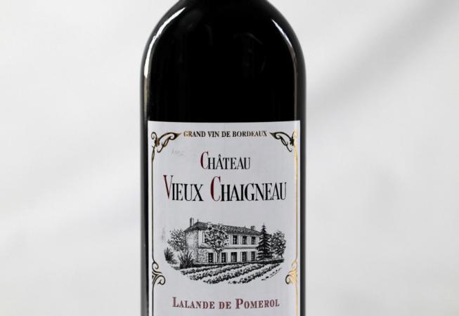 Bouteille de Château Vieux Chaigneau 2012 vue de face