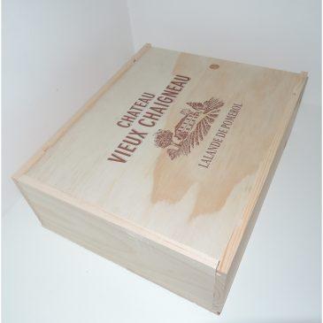 Les nouvelles caisses bois présentées à l'occasion de Vinisud